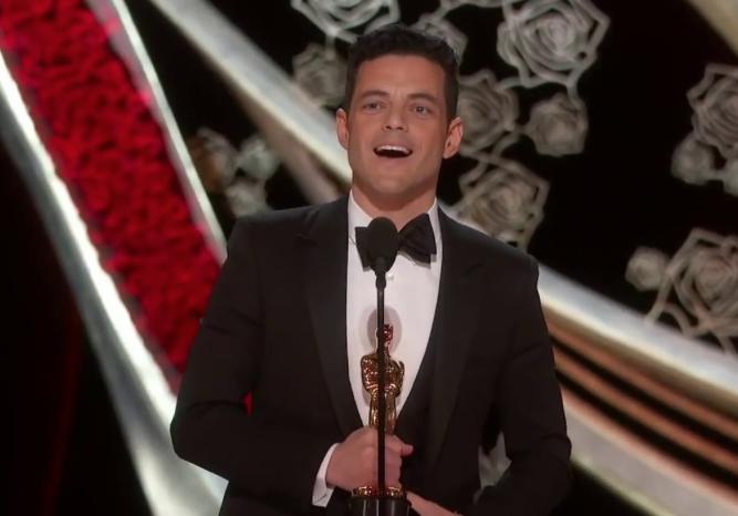 Oscar: Rami Malek premiato per Bohemian Rapsody