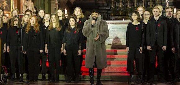 Vienna, la cerimonia del 1 dicembre in Chiesa con Conchita Wurst