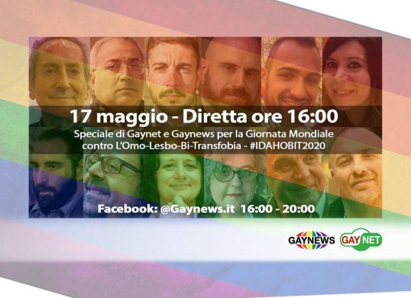 Giornata contro l'omotransfobia, ARCO partecipa alla diretta di Gaynews
